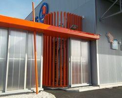 SMRH - GARLAN - Escalier hélicoidale métallique extérieur, Plonéour Lanvern