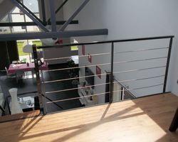 SMRH - GARLAN - Escalier métallique St Pol de Léon