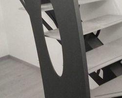 SMRH - GARLAN - Escalier métallique design, bi couleur, Morlaix