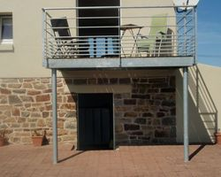 SMRH - GARLAN - Balcon métallique, Henvic