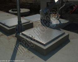 SMRH - GARLAN - Trappe et échelle aluminium Lesneven